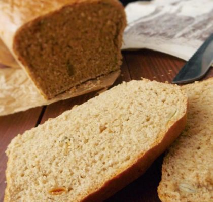 Najprostszy chleb pełnoziarnisty