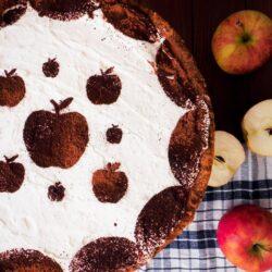 Ciasto podwójnie jabłkowe