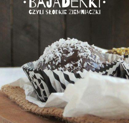 Bajaderki, czyli słodkie ziemniaczki