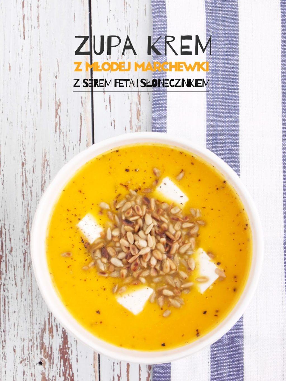 Zupa krem z młodej marchewki