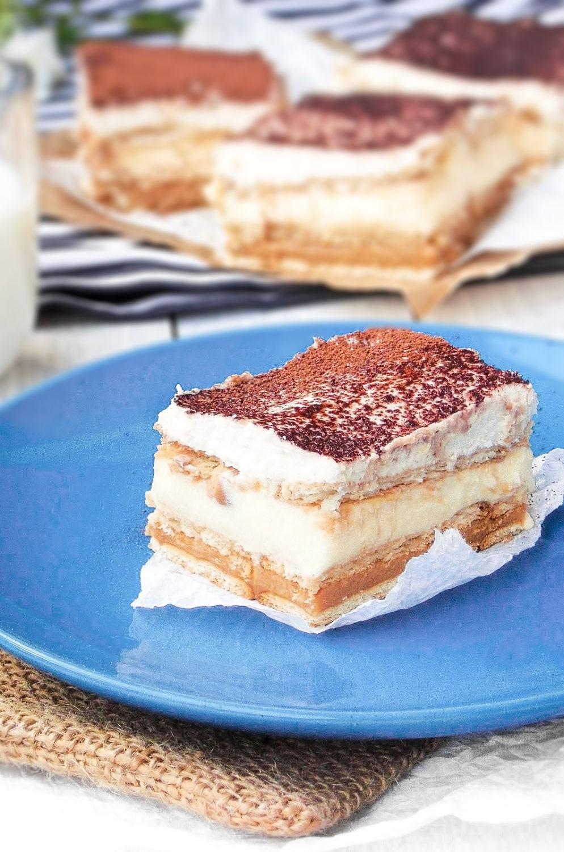 Ciasto 3 bit z mascarpone (bez pieczenia)