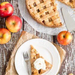 Apple pie - krucha, amerykańska szarlotka