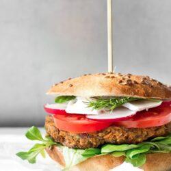 Wegetariańskie burgery