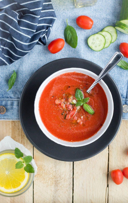 Gazpacho - hiszpański chłodnik pomidorowy