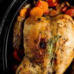 Idealny pieczony kurczak - przepis