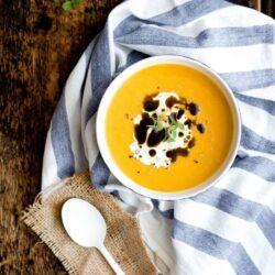 Dyniowa zupa krem - przepis