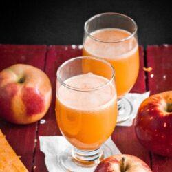 Sok dyniowo-jabłkowy - przepis