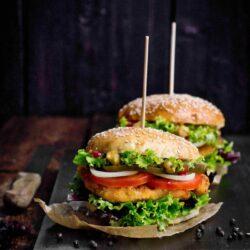Chicken burger - przepis