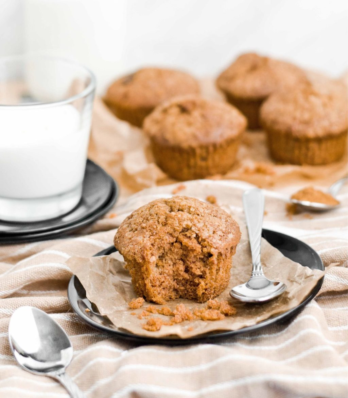 Muffiny dyniowe z dodatkiem jabłka