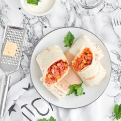 Szybkie meksykańskie burrito - przepis