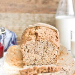 Słodki chlebek cukiniowy - przepis
