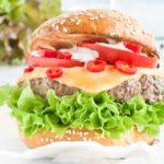 Pikantne burgery wołowe - przepis
