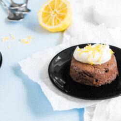 Czekoladowe ciastko na ciepło - przepis