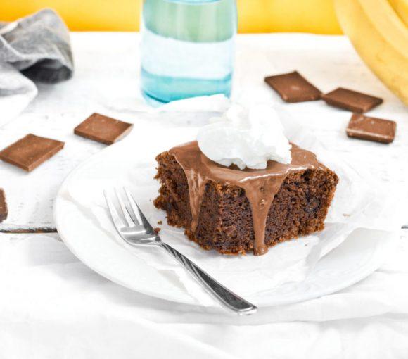 Ciasto bananowo-czekoladowe