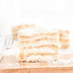 """Ciasto """"Rafaello"""" bez pieczenia"""