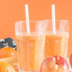 Nektarynkowa multiwitamina - sok z nektarynek, pomarańczy i bananów