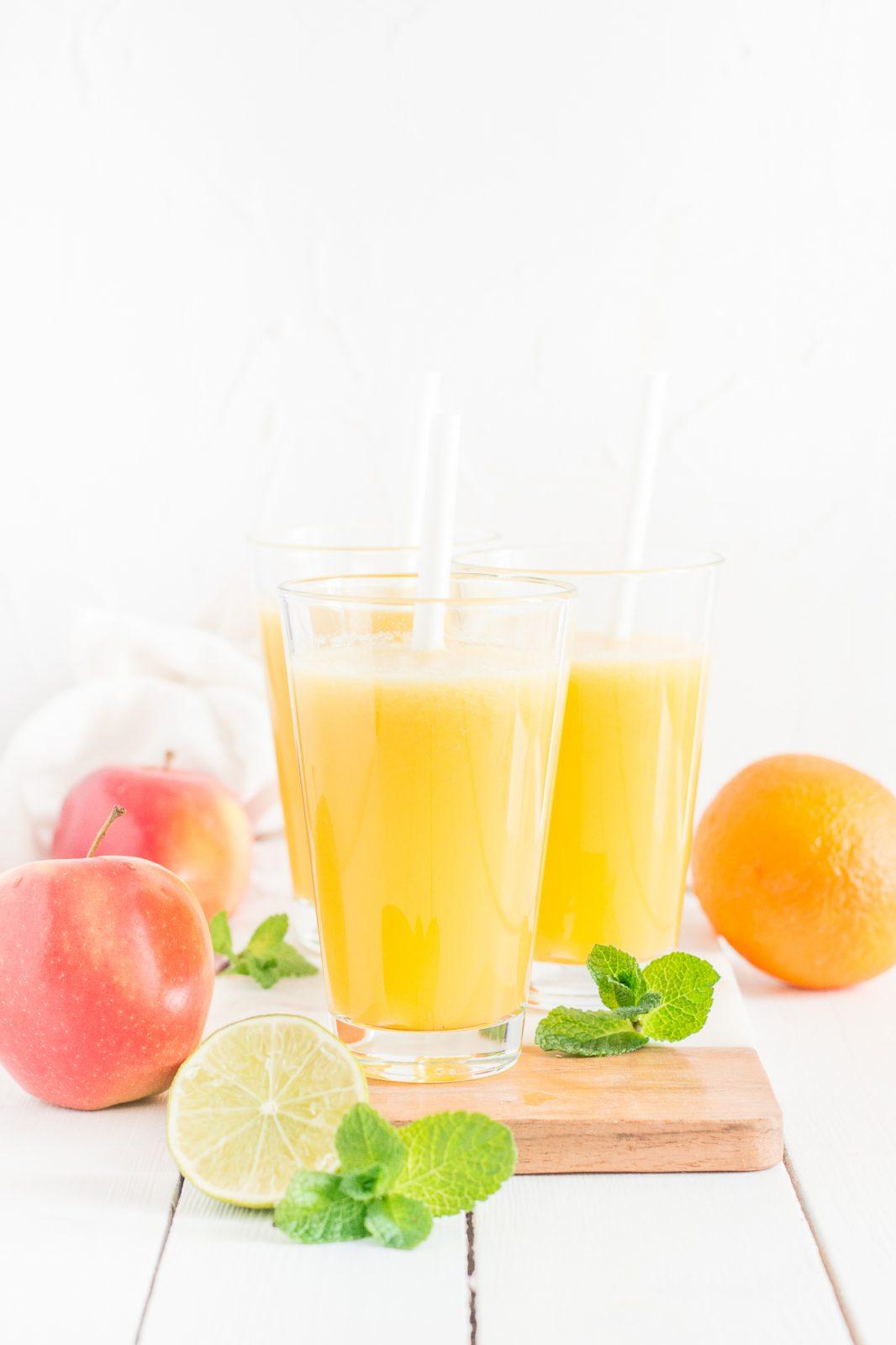 #4 Wszechstronny ananas - sok z ananasa i cytrusów