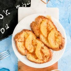 Francuskie tosty pomarańczowe z solonym karmelem