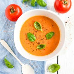 Zupa dyniowo pomidorowa - przepis