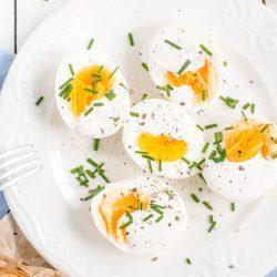 Jajka z chrzanowym majonezem