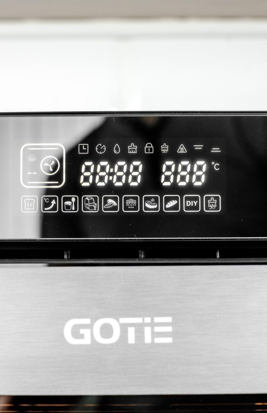 Piekarnik parowy GOTIE GPP-400 BAKEandSTEAM - czy warto?
