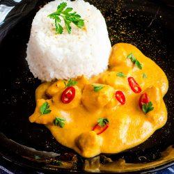 Morelowe curry z kurczakiem